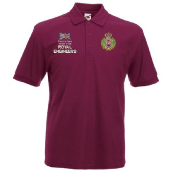 Proud to have Served Embroidered Polo Shirt